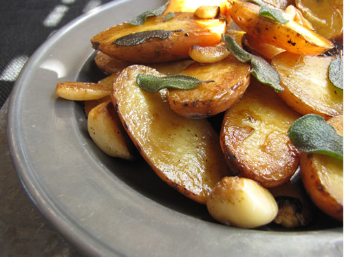 Braised Fingerling Potato Coins Recipes — Dishmaps