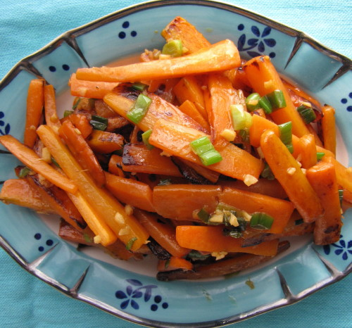 The Perfect Match: Carrots + Stir-Fry Pan