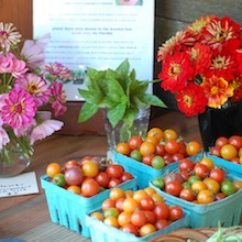 tomatoes summer farm stand 1