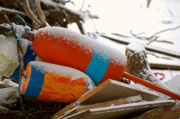 buoys snow