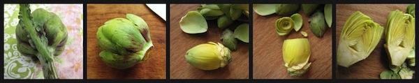 baby artichoke prep
