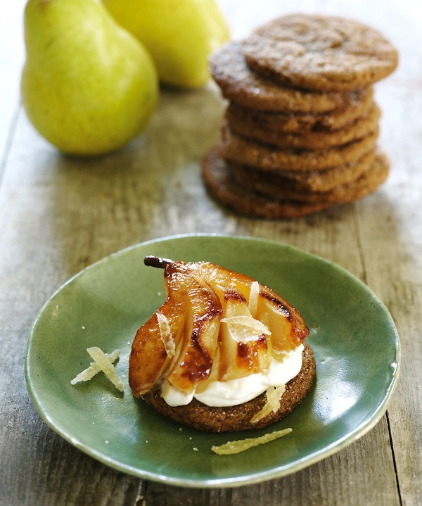 Honey-Vanilla Roasted Pear Recipe, Fresh From the Farm ...